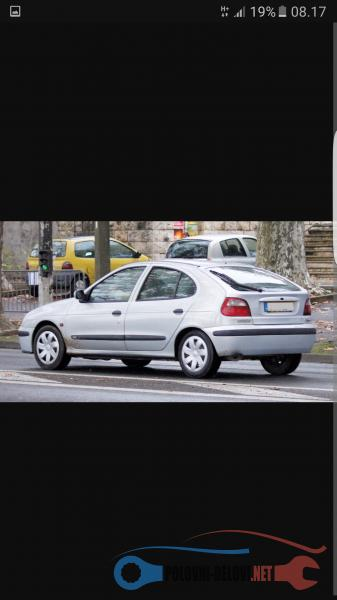 Polovni Delovi Za Renault Megane MEGAN 1 DIZELI I BENZINCI Kompletan Auto U Delovima