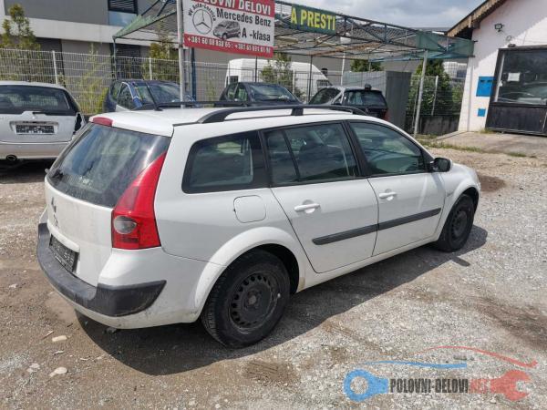 Polovni Delovi Za Renault Megane Karavan Svetla I Signalizacija