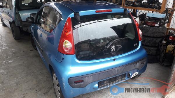 Polovni Delovi Za Peugeot 107 Peugeot 107 1.0b Delovi Kompletan Auto U Delovima