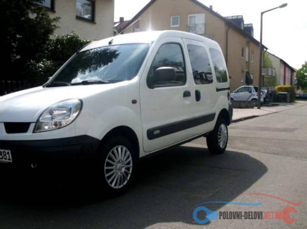 Polovni Delovi Za Renault Kangoo 1.5 Dci Kompletan Auto U Delovima
