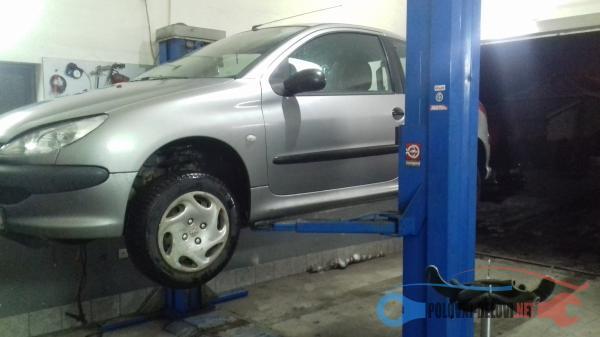 Polovni Delovi Za Peugeot 206 1.1b 1.4b 1.4hdi 1.6hdi Razni Delovi