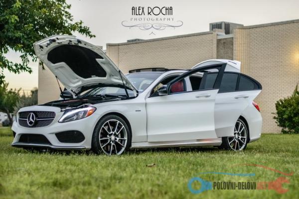 Polovni Delovi Za Mercedes Benz C Klasa C 43 AMG W205 Kompletan Auto U Delovima