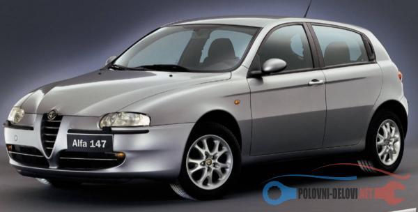 Polovni Delovi Za Alfa Romeo 147 1.9 JTD Kompletan Auto U Delovima