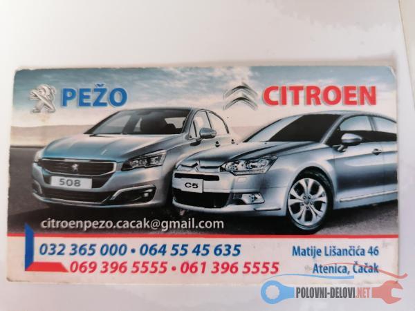 Polovni Delovi Za Peugeot 301 1.6 HDI Kompletan Auto U Delovima