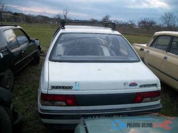 Polovni Delovi Za Peugeot 405 Pezo 405 Delovi Kompletan Auto U Delovima