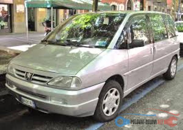 Polovni Delovi Za Peugeot 806 Dizel/benzin Kompletan Auto U Delovima