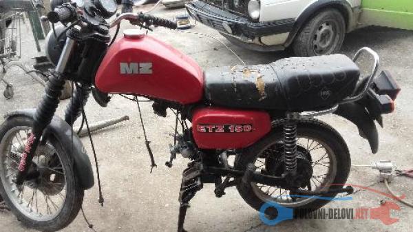 Polovni Delovi Za Ostalo Ostalo MZ Moto Delovi Kompletan Auto U Delovima