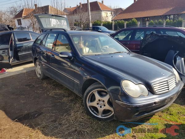 Polovni Delovi Za Mercedes Benz C Klasa W203 Delovi Kompletan Auto U Delovima