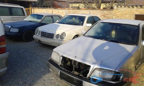 Polovni Delovi Za Mercedes Benz E Klasa D Cdi Kompletan Auto U Delovima