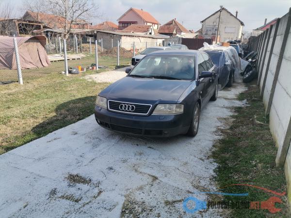 Polovni Delovi Za Audi A6 2.5tdi Kompletan Auto U Delovima