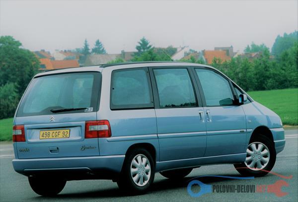 Polovni Delovi Za Peugeot 806 1.9TD,2.0 HDI,2.0 JTD Kompletan Auto U Delovima