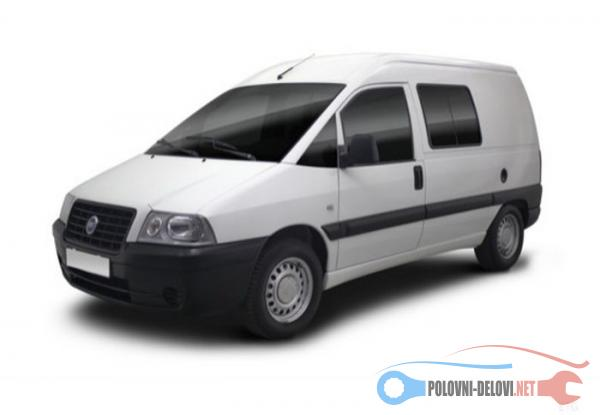 Polovni Delovi Za Fiat Scudo 2.0HDI 2.0JTD 1.9D 1.9TD Kompletan Auto U Delovima