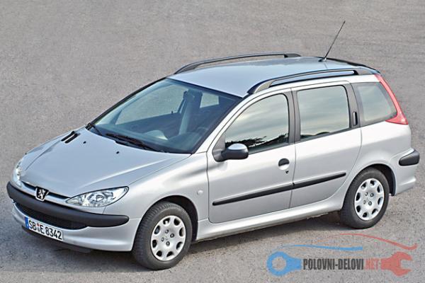 Polovni Delovi Za Peugeot 206 1.4 Hdi Kompletan Auto U Delovima