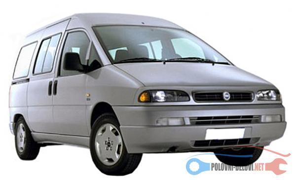 Polovni Delovi Za Fiat Scudo Dizel,benzin Kompletan Auto U Delovima
