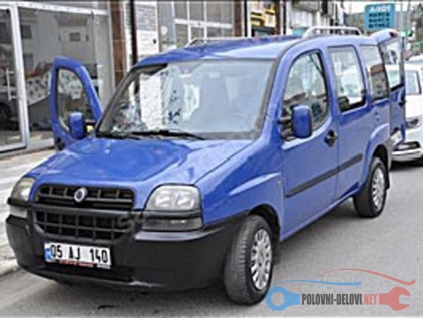 Polovni Delovi Za Fiat Doblo 1.9 JTD 1.9D Kompletan Auto U Delovima