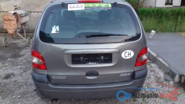 Polovni Delovi Za Renault Scenic Dizel. Benzin Kompletan Auto U Delovima