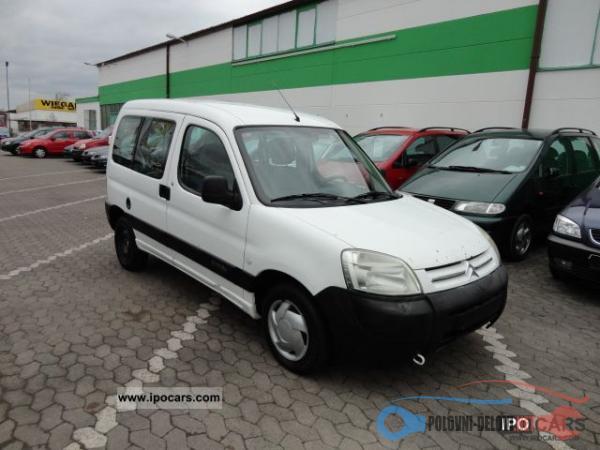 Polovni Delovi Za Citroen Berlingo 1.4 Benzin Kompletan Auto U Delovima
