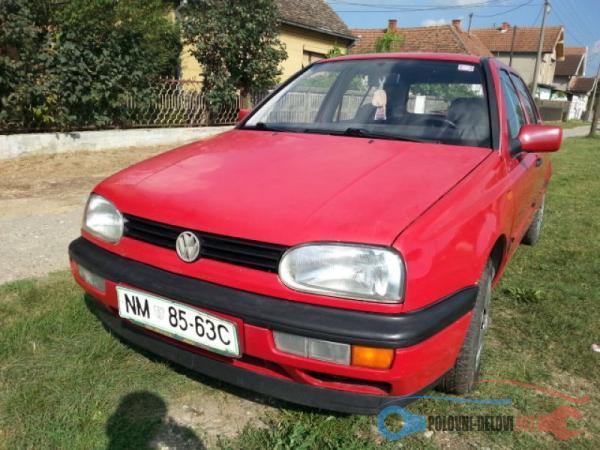 Polovni Delovi Za Volkswagen Golf 3 Kompletan Auto U Delovima