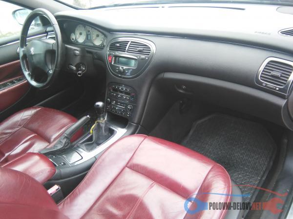 Polovni Delovi Za Peugeot 607 Enterijer
