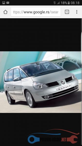 Polovni Delovi Za Renault Espace Dizeli I Benzinci Kompletan Auto U Delovima