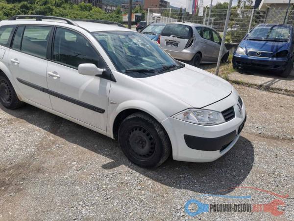 Polovni Delovi Za Renault Megane 1.6 16v 1.9dci Kompletan Auto U Delovima