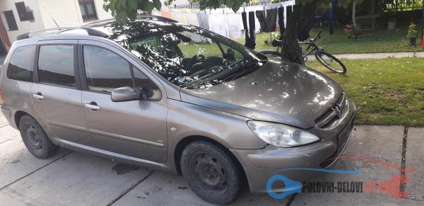 Polovni Delovi Za Peugeot 307 2.0 Hdi 0604396336 Kompletan Auto U Delovima