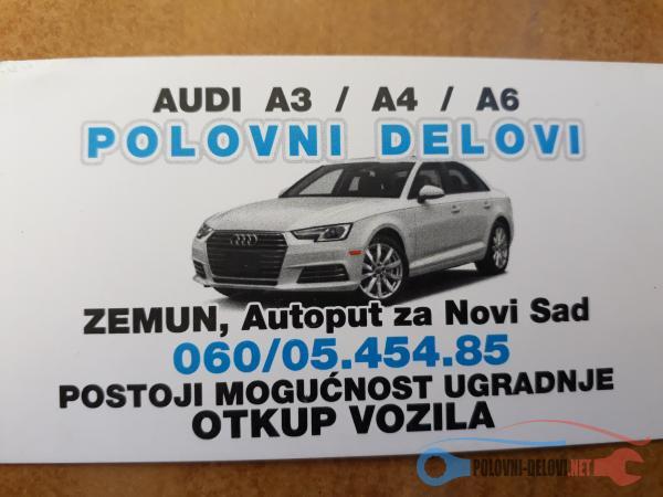 Polovni Delovi Za Audi A4 1.9 Elektrika I Paljenje