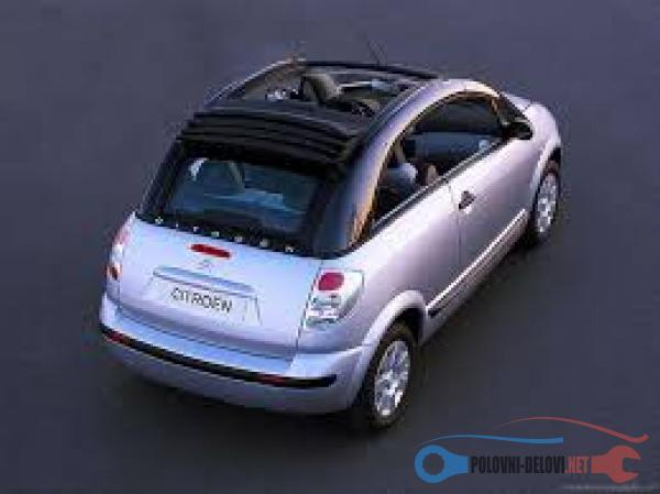 Polovni Delovi Za Citroen C3 Plurier Kompletan Auto U Delovima