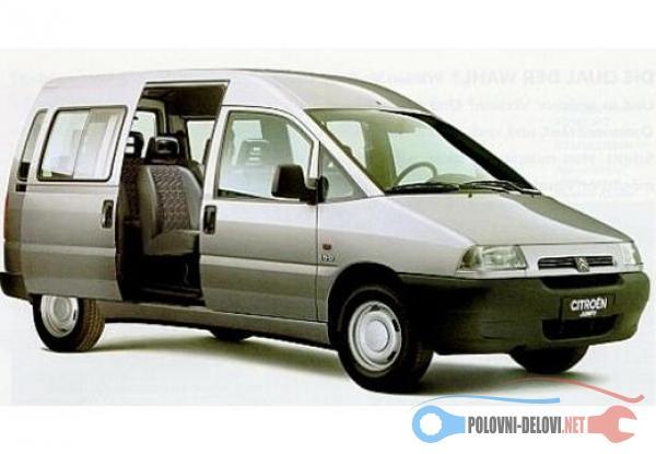 Polovni Delovi Za Fiat Scudo 1.9TD,2.0 HDI,2.0 JTD1.9D Amortizeri I Opruge