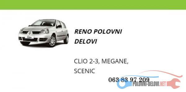Polovni Delovi Za Renault Clio Kompletan Auto U Delovima