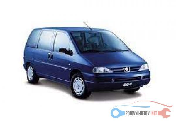 Polovni Delovi Za Peugeot 806 2.0HDI 2.0JTD 1.9D 1.9TD Kompletan Auto U Delovima
