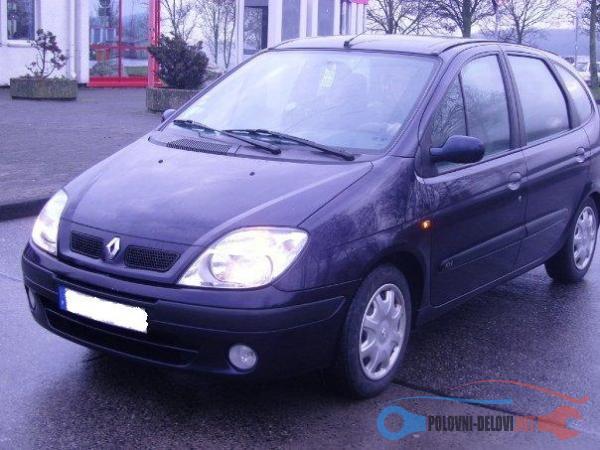 Polovni Delovi Za Renault Scenic Kompletan Auto U Delovima