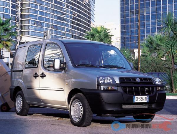 Polovni Delovi Za Fiat Doblo 1.9JTD 1.9D Kompletan Auto U Delovima