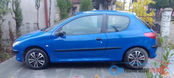 Polovni Delovi Za Peugeot 206 1.1 Kompletan Auto U Delovima