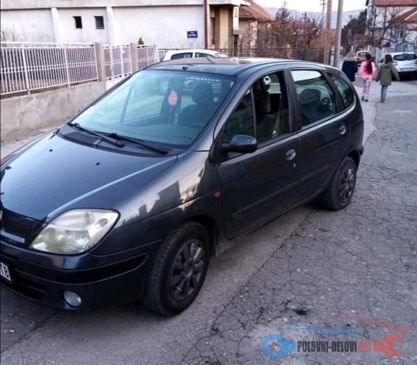 Polovni Delovi Za Renault Scenic 1,6 16v Kompletan Auto U Delovima